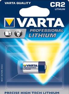 Lithiová baterie CR 2 - 3 V