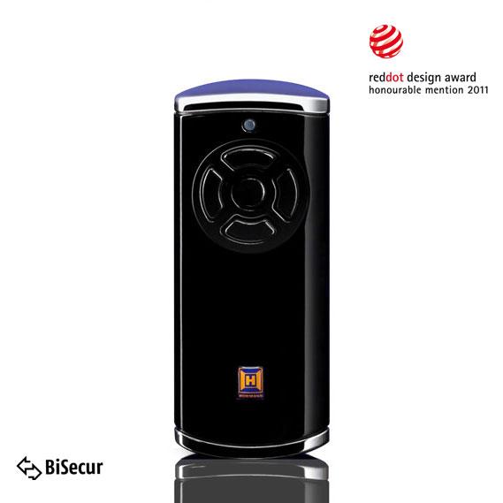 Dálkový ovladač Hörmann BiSecur HS 5 BS (lesk, černý) - 868 MHz